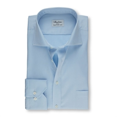 Stenstrøms Skjorte Lyseblå (Light Blue Classic Shirt In Twill)