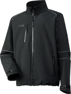 Helly Hansen Jakke Sort (BARCELONA JACKET)