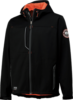 Helly Hansen Jakke Sort (LEON JACKET)